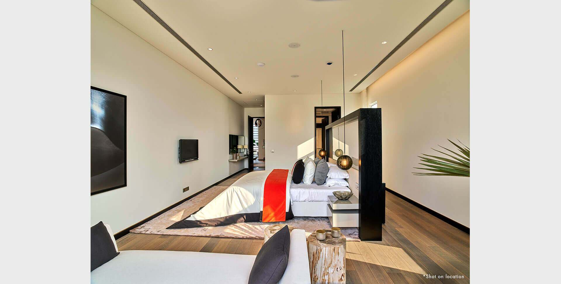 Master Bedroom with Study